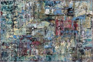Art, Kunst, Öl, Oil, Gold, Gustav Klimt, Spachteltechnik, Leinwand, canvas, squeegee, modern, Gemälde, artwork, studio, gallery