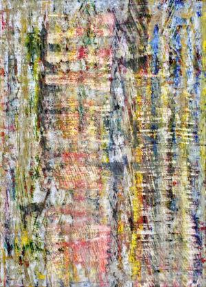 Art, Kunst, Öl, Oil, Bunt, color, Spachteltechnik, Papier, paper, squeegee, modern, Gemälde, artwork, studio, Atelier, gallery