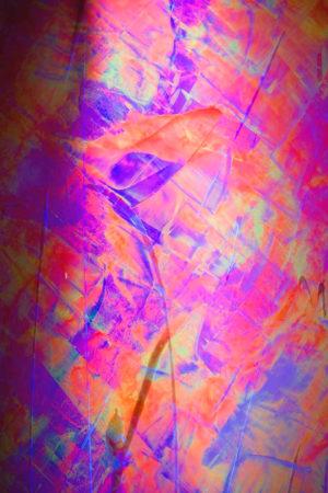 Art, Kunst, Acryl, acrylic, neon, uv, blacklight, rhythm, Rhythmus, Bunt, color, Spachteltechnik, plexiglas, light, Lichtobjekt, object, squeegee, modern, Gemälde, artwork, studio, Atelier, gallery