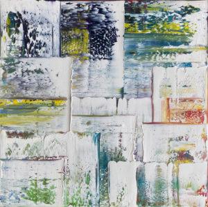 Art, Kunst, Öl, Oil, Bunt, white, weiß, color, Spachteltechnik, Leinwand, canvas, squeegee, modern, Gemälde, artwork, studio, Atelier, gallery