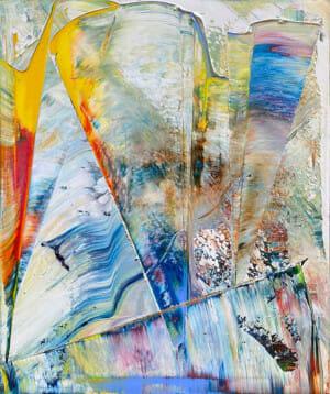 Art, Kunst, Öl, Oil, Bunt, color, Spachteltechnik, Leinwand, canvas, squeegee, modern, Gemälde, artwork, studio, Atelier, gallery