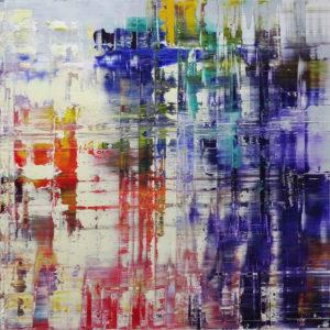 Art, Kunst, Öl, Oil, Spachteltechnik, Leinwand, canvas, squeegee, modern, Gemälde, artwork, studio, gallery