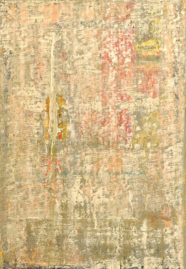Art, Kunst, Öl, Oil, Bunt, color, Spachteltechnik, Papier, paper, squeegee, modern, Gemälde, gold, artwork, studio, Atelier, gallery