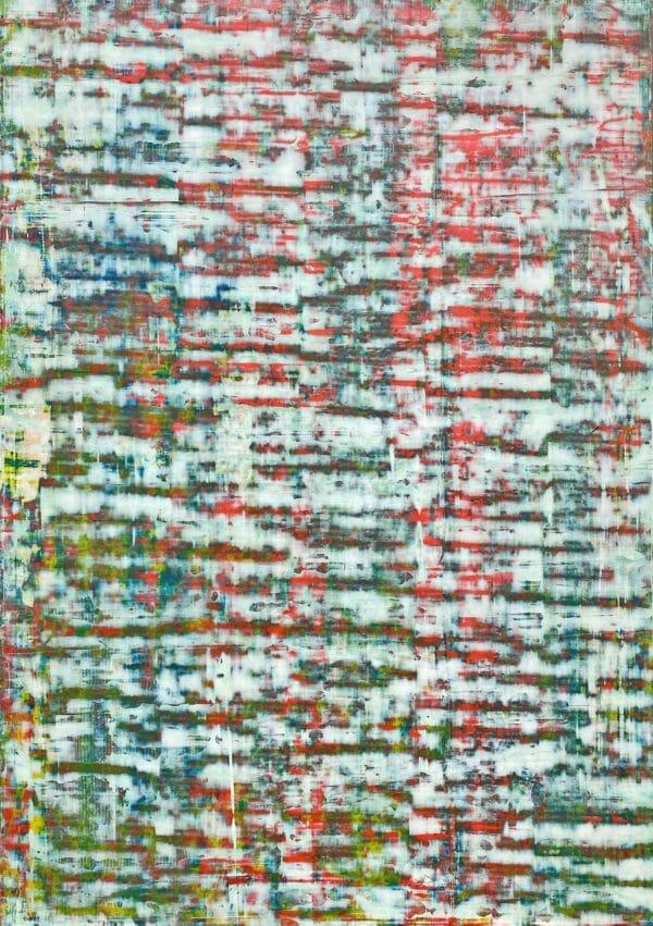Art, Kunst, Öl, Oil, Bunt, color, Herbst, autumn, Spachteltechnik, Papier, paper, squeegee, modern, Gemälde, artwork, studio, Atelier, gallery