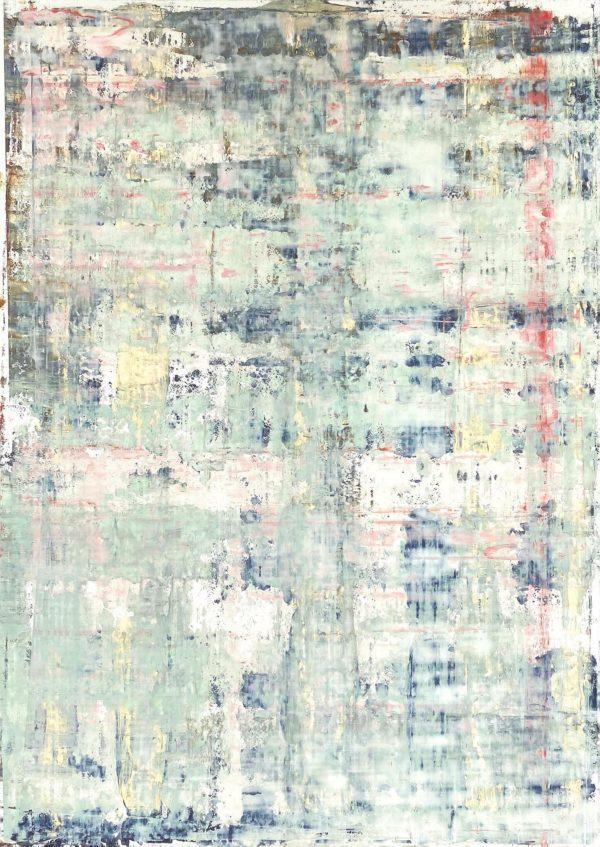 Art, Kunst, Öl, Oil, Bunt, color, Weiß, Story, Zart, gentle, Spachteltechnik, Papier, paper, squeegee, modern, Gemälde, artwork, studio, Atelier, gallery, white art