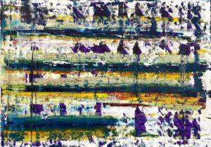 Art, Kunst, Öl, Oil, Bunt, color, wider, Story, Spachteltechnik, Papier, paper, squeegee, modern, Gemälde, artwork, studio, Atelier, gallery, Es ist vollbracht, It is done, easter, ostern, resurrection, Auferstehung