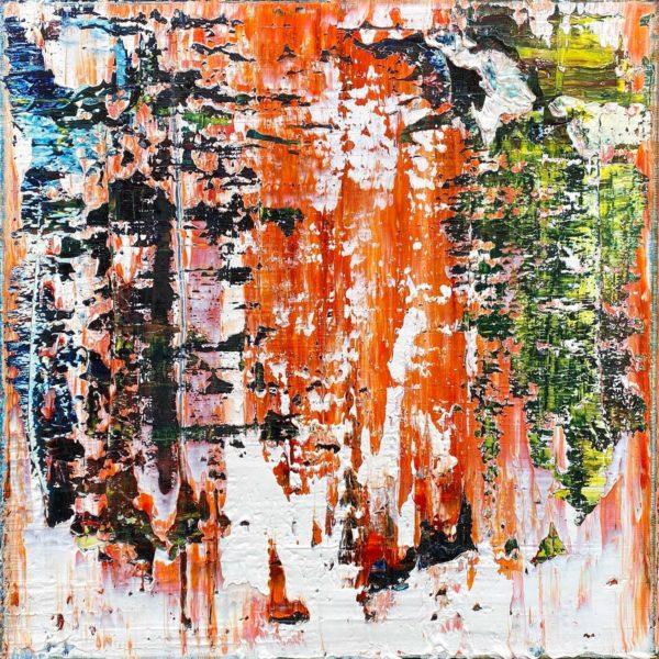 Art, Kunst, Öl, Oil, Bunt, color, Spachteltechnik, Leinwand, canvas, squeegee, modern, Gemälde, artwork, studio, Oubreak, Atelier, gallery
