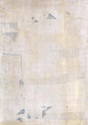 Art, Kunst, Geboren, Born, Minimalistisch, minimalism, monochrome, Öl, Oil, Bunt, color, Spachteltechnik, Papier, paper, squeegee, modern, Gemälde, artwork, studio, Atelier, gallery, gold