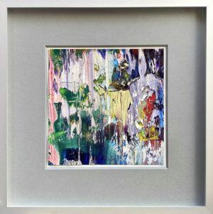Art, Kunst, Öl, Oil, Bunt, color, Spachteltechnik, Leinwand, canvas, squeegee, modern, Gemälde, artwork, studio, rain, regen, Atelier, gallery