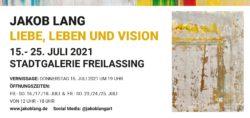Art, Exhibition, Freilassing, Jakob Lang, Gallery, Museum, Stadtgalerie, Salzburg, 2021